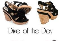 """Designer Shoes on Sale: Dive of the Day / Check out AddingtonFalls.com daily for our featured sale known as the """"Dive of the Day"""" / by Addington Falls"""