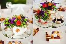 Teacup Centerpiece and favors