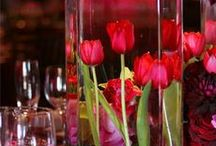 Candle & Submerged Centerpieces / by An Affair To Remember