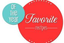 Best Recipes of the year / Food bloggers highlight their best and favorite recipes of the year / by Cheryl Sousan | Tidymom.net