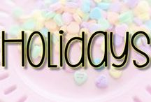 Holidays / Follow this board for fun lesson ideas and crafts for the holidays.