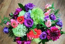 Fresh flowers by Periwinkle Flowers / Our gorgeous designs.  We deliver across the Greater Toronto Area.