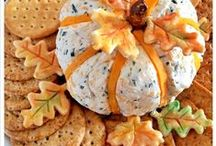 Thanksgiving Appetizers and Snacks / Before you present the Turkey, give your guests scrumptious appetizers and snacks while they wait...