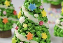 Christmas Sweet Treats / Christmas Desserts, Christmas Cookies and more yummy sweet treats for the holiday!
