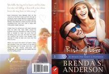 Risking Love - a Novel / Risking Love, a Where the Heart Is romance, by Brenda S. Anderson
