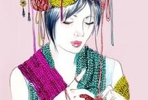 crochet and knitting / by Daniela Lima