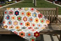 Quilts / I love quilts, and have started a couple. One day I may even finish them! These are ideas and pictures to inspire me! / by Monika Brown