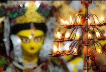 Festive! | Indian Homes / #Diwali #Dussehra #Navratri #Decor