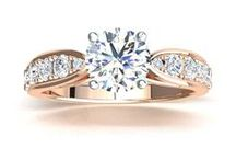 Engagement Rings: Rose Gold