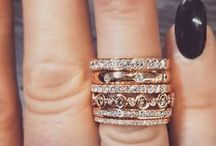 Mixed Rings / Follow this board for dress rings and ring stacks galore.