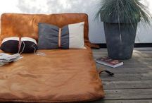 LEATHER HOME DECOR / Leather furnishings