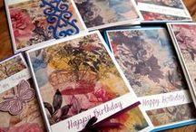 Birthday Cards / Birthday Cards Happy Birthday #birthdaycards #happybirthday #cardmaking #papercraft #veronicard #austrianblogger #vienna