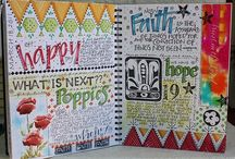 Paper & Pen / Journals, fonts, inspiration. / by Monika Brown