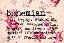 Bohemian / Bohemian style, life, Weddings, house decor...the thin is boho!