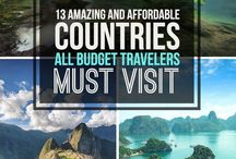 Places to go/ travel bucket list / Some travel pinning, just in case I'll run out of ideas.