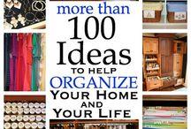 Organization tips / Stay organized!