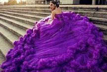 Purple. / Are you the purple fan? So elegant! #dresses #purple www.imdresses