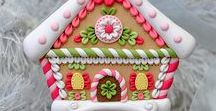Food - Gingerbread houses ideas