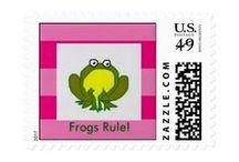 Postage Stamps by EelKat