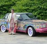 The Dazzling Razzberry aka The Autism Awareness Car / The Dazzling Razzberry aka The Autism Awareness Car; 1992 Volvo 240 GL, with 2.5millions beads,  marbles, and flocked teddy bears glued to it.