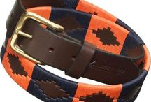 Pampeano Belts / Luxury hand crafted leather belts.