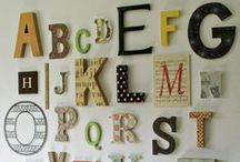Alphabet antics / Clever use of the alphabet, letters & fonts