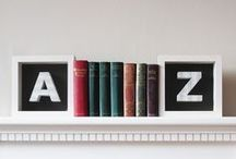 Bookish bookends / Ideal bookends for bibliophiles / by Every Word Counts