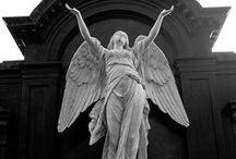 Angel sculpture/art / by Amber Duran