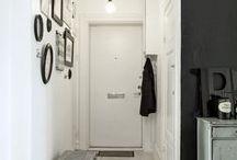 Hallway, Walk-in Wardrobe / chodba a šatny