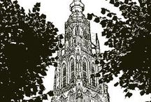 BREDA CARTOON / Pictures from Breda changes into Cartoon Images from my own collection