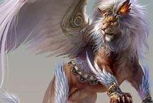 Fantasy RPG / Visual idea board for Pathfinder.
