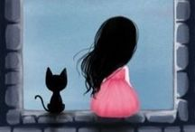 Cats illustrations / Beautiful cats