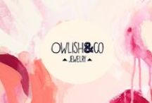 Owlish&co / Bijoux, logo, art, bijoux, jewels