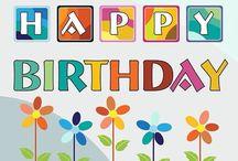HAPPY BIRTHDAY WISHES / Happy Birthday / by ~ Shnee ~