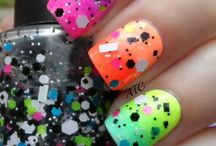 Nail fashion / This is some nail polish that I think are so cute