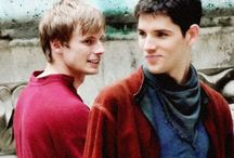 Merlin  / Merlin: how do I look?     Gaius: same as you always do.     Merlin: handsome? ;)