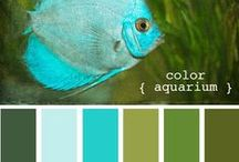 Farver turkis blå / Glæden ved farver!