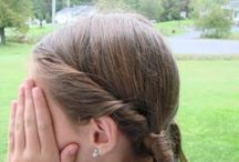 Ponytails Glammed-up! / Hairstyle older girls can do to keep hair back and looking pretty!