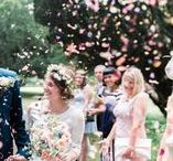 GGP | Wedding Confetti Fun / Who doesn't love a confetti photo! Here are some confetti photos I've taken at weddings.