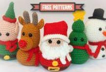 Háčkování - sezónní projekty / Crochet - season projects / Easter, Christmas, Fall etc.