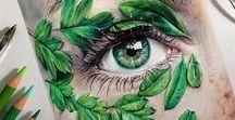>> Art / Tattoo, Typography, Draws,
