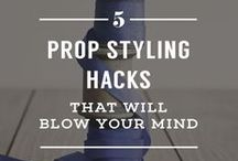 Photo Props | Tips & DIY / photo props, diy props, diy photo props, prop hacks, styling hacks, photo styling, prop styling