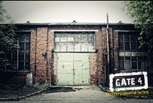 Gate4 Gym / Crossfit / Krav Maga / Kettlebel / and industrial work space.
