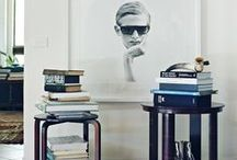 Vignettes / Artfully designed scenes for the home. Objects and Accessories.