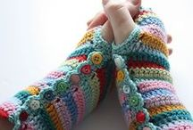 From Yarn to the Clothes / Knitted and crocheted socks, hats, scarves, mitts, etc.