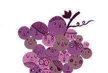 Ciemne winne grono / Chrupiące winogrono to zupełnie nowa jakość, zamiast smutnych rodzynek chrup Puffins!