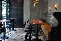 Bares | Restaurantes | Cafés / by Paula Gil