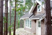 Cottage / Ideas for renovating, restoring and redecorating the midcentury Kawartha cottage my husband's family built.