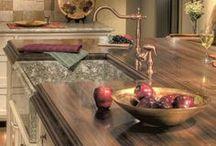 Wood Countertops  / Design Inspirations for Wood Countertops & more!