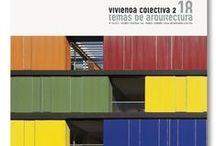 Revistas y Libros / Libros y revistas sobre arquitectura contemporánea, proyectos de arquitectura actual e historia de la arquitectura moderna.